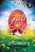 Easter Party Flyer by styleWish