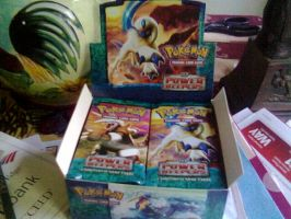 First Ever Pokemon Booster Box by ShadowxJamie