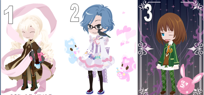 3 Chibi Adopts (FREE!) Closed by manga38963