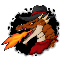 Texas Fire Dragon by DemonicNeko