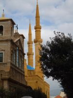 Mosque and Church by z-t-l-fire