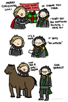 A Very Merry Asgard Christmas by geothebio