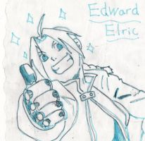 Edward Elric by redlotus28