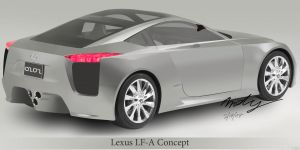 Lexus LF-A Concept by Andy202