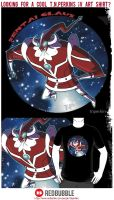 Sentai Clause T-Shirts! by tnperkins