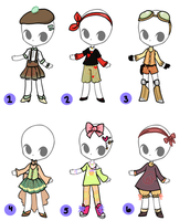 OC Outfit Adopts 2 (CLOSED) by orichara