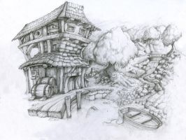 River house by Bezduch