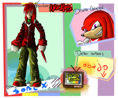 ficha Knuckles by Reckless-Raven
