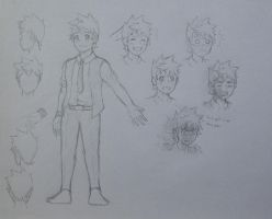 Character Concepts: Shouta Minami by Blazing0Pixel