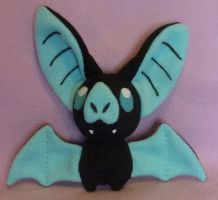 Bat Plush Pattern Trial 2 by AmberTDD