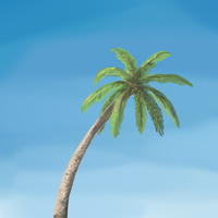 A Palm Tree by ManMadeOfGold
