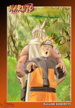 killer bee et naruto by Crazyaction