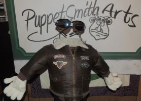 Invisible Man Puppet by PuppetSmith Arts by kingart4
