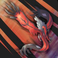Yveltal by MellowMeloetta