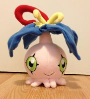 Digimon - Yokomon custom plush by Kitamon