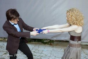 Doctor Who and River Song 4 by Kura-Kitsune