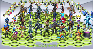 Xbox X Fighters Final Full 50 by Hangman95