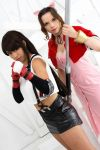 Those Who Fight - Tifa and Aeris by Ali-Kitty