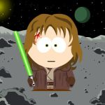 Anakin Skywalker south park by BlackLuna2505