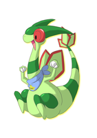 Austin the Flygon by MasaBear