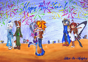 Happy 2013! by Libra-the-Hedghog
