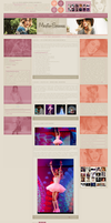 Martina Stoessel wordpress theme by shokobom94