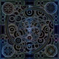 Mandala of the Chronos' Dream by Lakandiwa