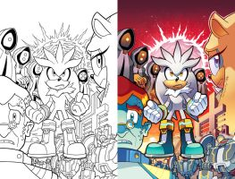 Sonic Universe 81 Cover by herms85