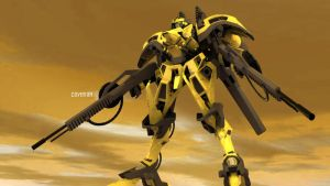 Yellow MEcha Update1b by covenan