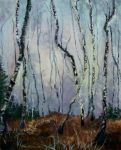 Winter forest by Calimai