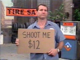 Al Bundy:shoot me by linzizi