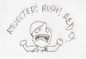 Dithers - REJECTED! RUSH! REDO! by dth1971