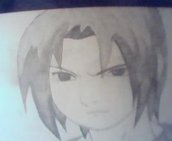 Sasuke Drawing by bulmavegeta
