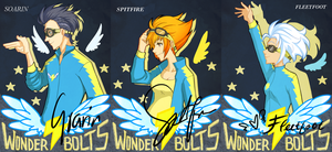wonderbolts by ssenarrya