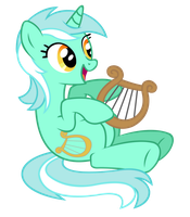 Lyra's lyre by Moonbrony