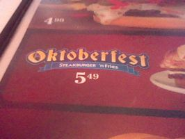 OKTOBERFEST At Steak and Shake by SoulEaterQueen