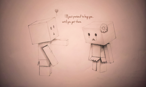 Danbo - Hug You by SparticusX