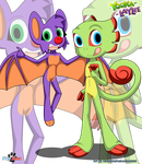 Yooka and Laylee by Aldin1996