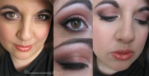 Go Orioles Makeup by Cinnamoncandy