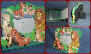 ( The Lion King ) Simba's Pride Picture Frame by KrazyKari