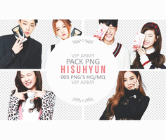 Pack png render: Hi Suhyun ft. Bobby |YG #02 by VipArmy