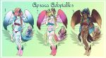 Adoptable template 02 (OPEN) by RedRose-Shana