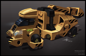 Truck concept by Laggtastic