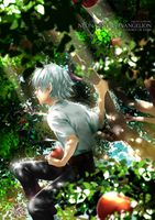 NGE + Garden of Eden by BakaMandy