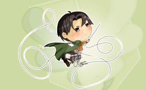 Rivaille Heichou by FlaminiaKennedy