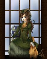 Art Request - Evangeline by Selequiel