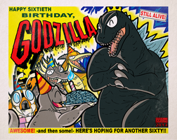 Happy Birthday, Godzilla! by MichaelJLarson