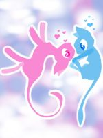Blue and Mew by Hooplang
