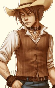 A Cowboy by celesse