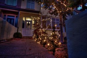 christmas HDR by wasted49